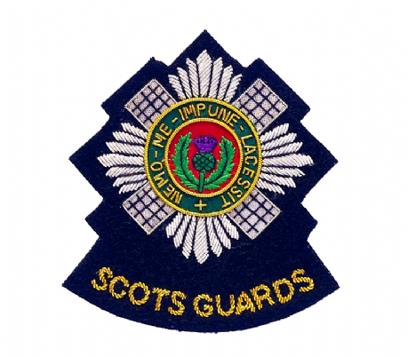 Scots Guards | Guards | Wire embroidered blazer badge.
